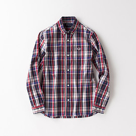 Fred Perry - End On End Rib Shirt/F4328