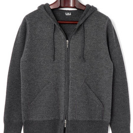 three dots - wool hoodie