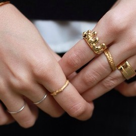 gold/rings