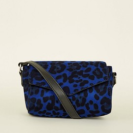 NEW LOOK - Blue Leopard Print Cross Body Bag