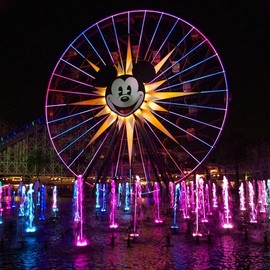 California Adventure at the Disneyland Resort in Anaheim, CA. - Mickey's Fun Wheel