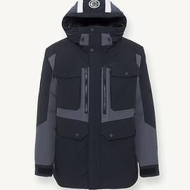 WHITE MOUNTAINEERING - COLMAR A.G.E × WHITEMOUNTAINEERING PARKA - NERO