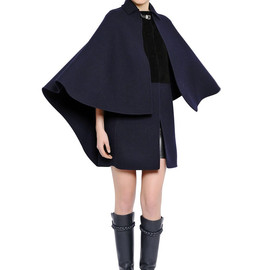 VALENTINO - FW2014 DOUBLE WOOL FELT CAPE