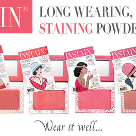 the Balm - INSTAIN Long-Wearing Powder Staining Blus