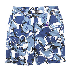 THE NORTH FACE PURPLE LABEL - COOLMAX® Camouflage Webbing Belt Shorts