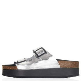 TOPSHOP - FANG Double Buckle Flatforms