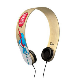 PARRA x THE PERFECT UNISON - PLAYWOOD HEADPHONES