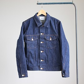 YAECA - Denim Jacket / 13oz one wash #indigo