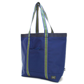 "HEAD PORTER - ""IVY"" TOTE BAG NAVY"