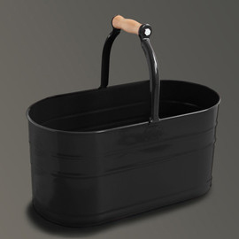 LABOUR AND WAIT - Housekeepers Bucket Black