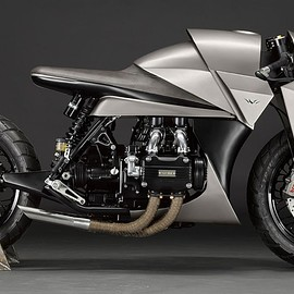 Death Machines of London - Kenzo 建造 / 1977 Honda Goldwing GL1000
