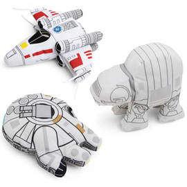 ThinkGeek - SD Star Wars Plush Vehicles