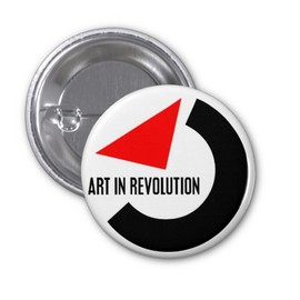 """ART IN REVOLUTION"" Pin"