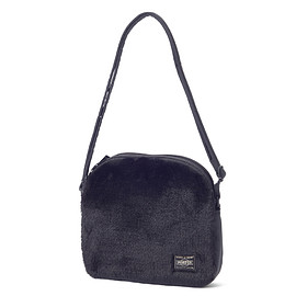 "HEAD PORTER - ""DUPLEX"" SHOULDER BAG BLACK"