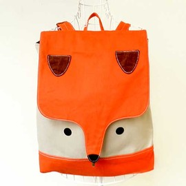 littleoddforest - Wanderlust Critter Backpack (Fantastic Fox) ORANGE