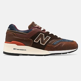 New Balance - M997SOC - Brown/Blue
