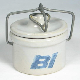 "BRANIFF INTERNATIONAL - ""Cheese Crock"" for First Class"
