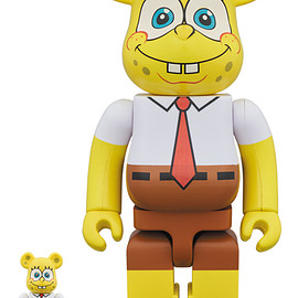MEDICOM TOY - BE@RBRICK SpongeBob 100% & 400%