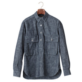 Nigel Cabourn - L/S DUNGAREE SHIRT