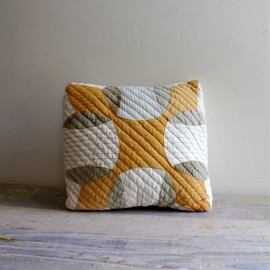 Vintage Patched Quilt Pillow