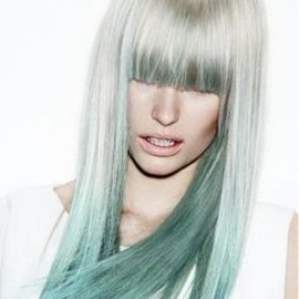 Light green hair