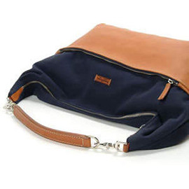 Daniel&Bob - JASMINE SHOULDER COTTON WASHED NAVY/TAN