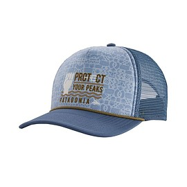 patagonia - Protect Your Peaks Interstate Hat, Woolly Blue (WOBL)