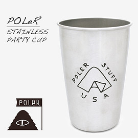POLeR - STAINLESS PARTY CUP