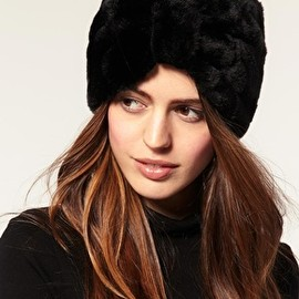 ASOS - ASOS Faux Fur Turban Headband
