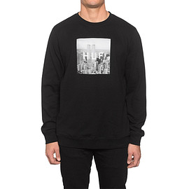 HUF - NEW YORK BOX LOGO CREW