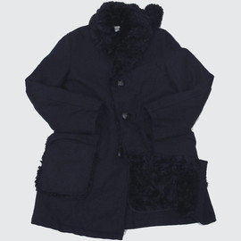 FWK Engineered Garments - Forest Coat - Navy 20oz Melton