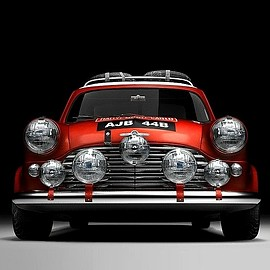 BMC - Mini Cooper S 1964 | Four time Winner of the Monte Carlo Rally
