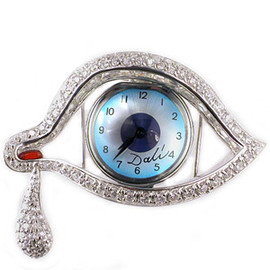 Salvador Dali - Eye of Time Pin