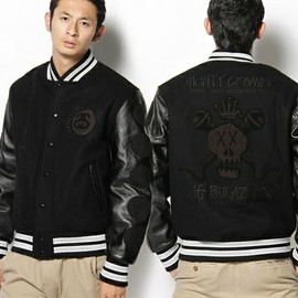 STUSSY - x Nine Rulaz Line x Mighty Versity Jacket