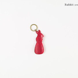 CEMENT PRODUCE DESIGN, Sabae kutsubera - Rabbit-ウサギ/Red (Sサイズ)