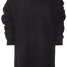Opening Ceremony - Off-the-shoulder wool-blend sweater dress