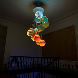 Benoir Vieubled - globe chandelier