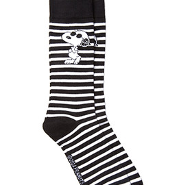 FOREVER 21 - Striped Snoopy Socks
