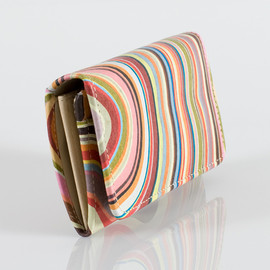 Paul Smith Women - Swirl Printed Small Tri-fold Purse