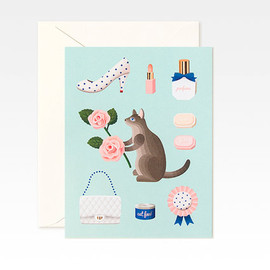 Clap Clap - Mint Cat Card