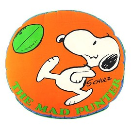 "SNOOPY - ""THE MAD PUNTER"" Snoopy Cushion 70's"