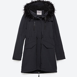 zara - Image 8 of FLEECE LINED PARKA from Zara