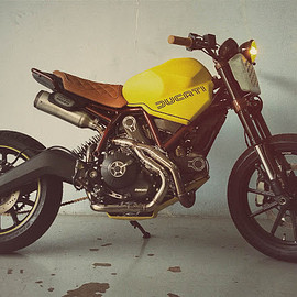 "The Garage KL - ""Dirt Fellow"" Ducati Scrambler"