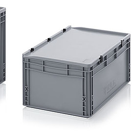 AUER - Euro Containers with hinged lid