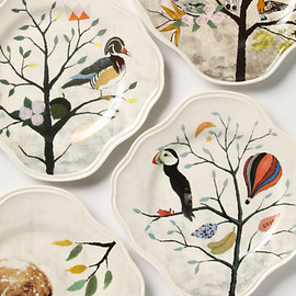 anthropologie - Curious Deciduous Salad Plate