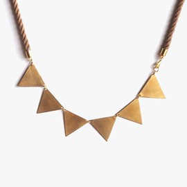 MION - bunting necklace