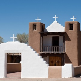Taos Pueblo,New Mexico - San Geronimo Chapel