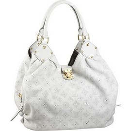 LOUIS VUITTON - White Leather