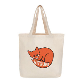 MAISON KITSUNÉ - SHOPPING BAG KITSUNÉ 10 YEARS
