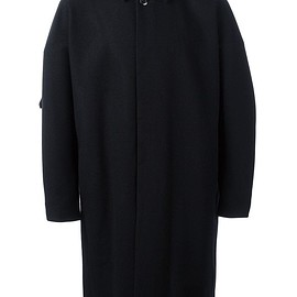 Attachment - concealed fastening coat